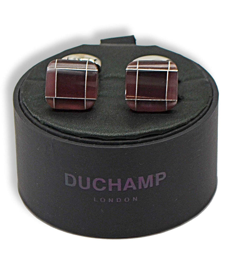 Duchamp London Brown Cuff Links
