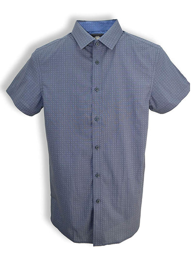 English Laundry Short Sleeve Printed Shirt