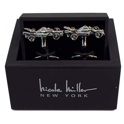 Nicole Miller Studio Race Car Cuff Links