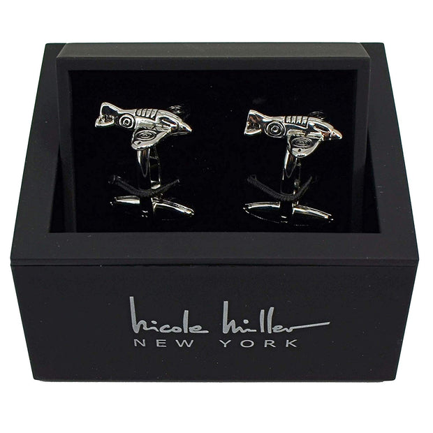 Nicole Miller Studio Airplane Cuff Links