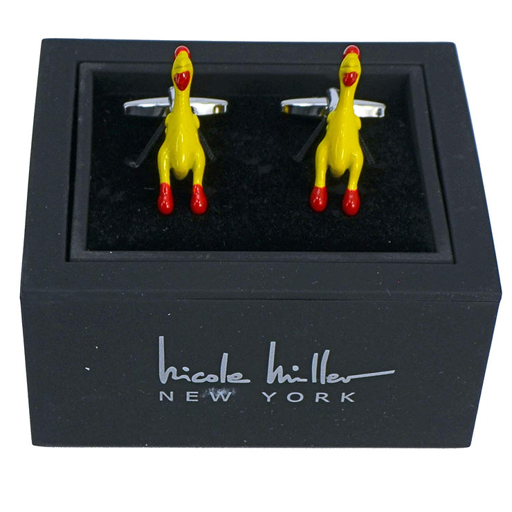 Nicole Miller Studio Chicken Cuff Links