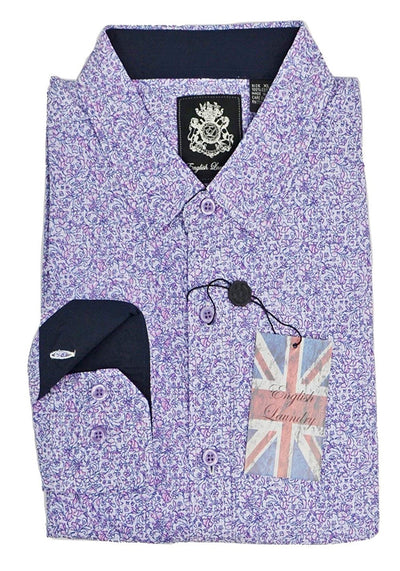 English Laundry Print Sport Shirt