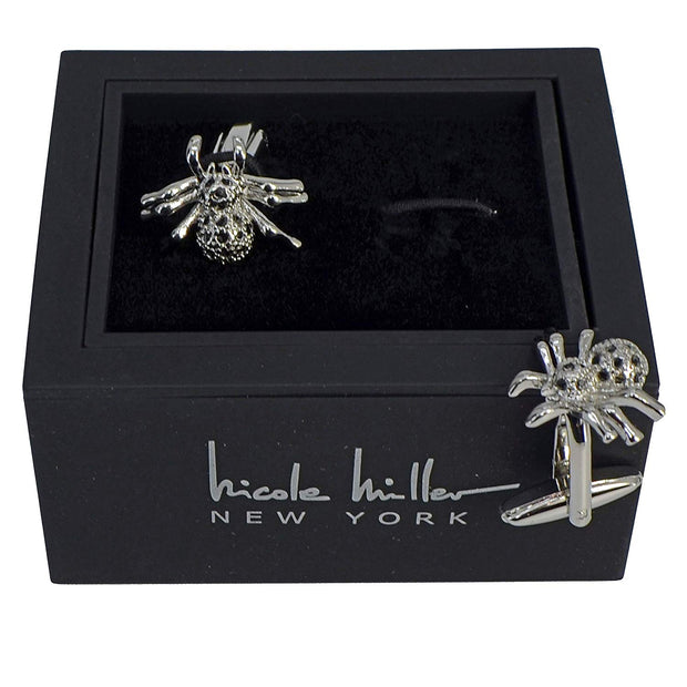 Nicole Miller Studio Spider Cuff Links
