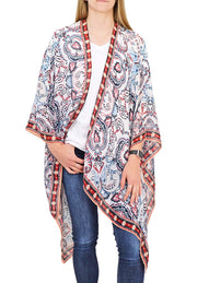 Roffe Accessories Nancy Kimono White