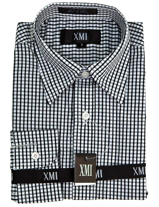 XMI Boys Long Sleeve Check Shirt