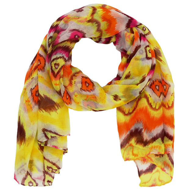 Rain Abstract Print Scarf