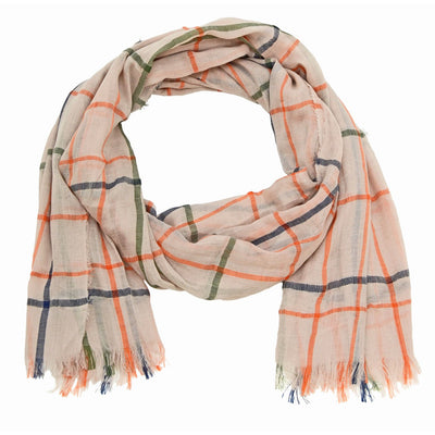 Kade Solid Plaid Scarf
