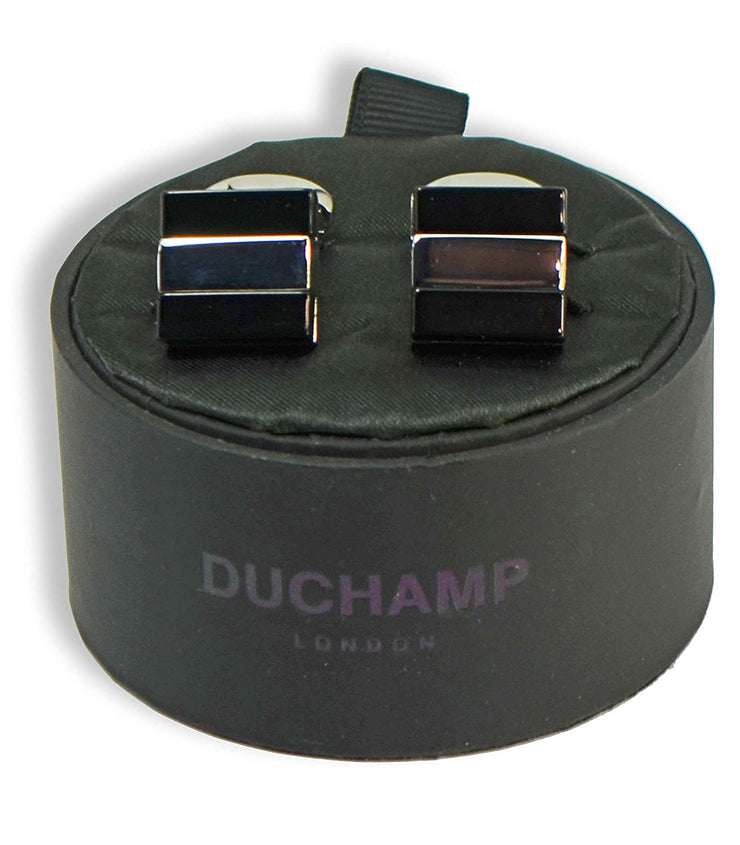 Duchamp London Striped Cuff Links