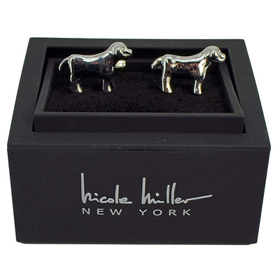 Nicole Miller Studio Dog Cuff Links