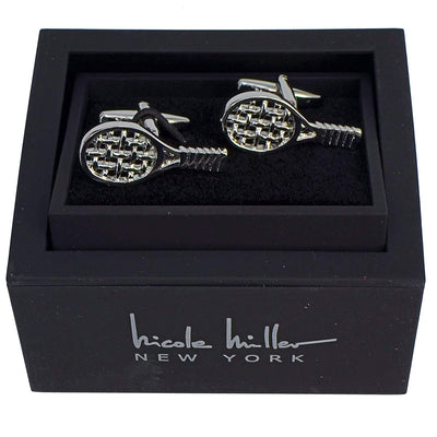 Nicole Miller Studio Tennis Cuff Links