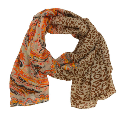 Quorra Animal and Paisley Scarf