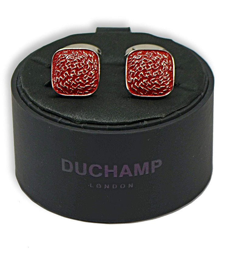 Duchamp London Red Cuff LInks
