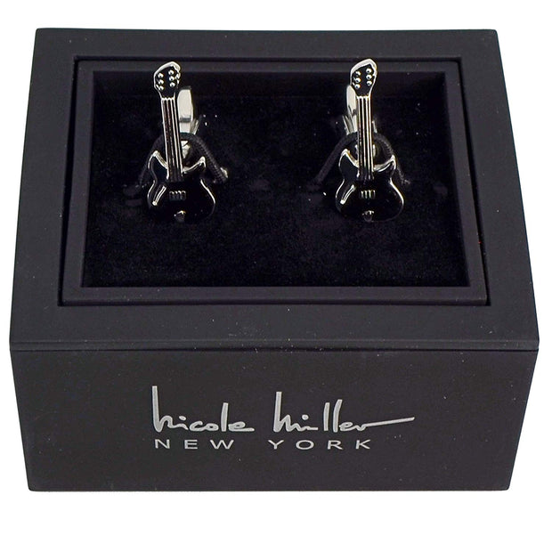 Nicole Miller Studio Guitar Cuff Links