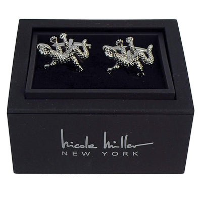 Nicole Miller Studio Lizard Cuff Links