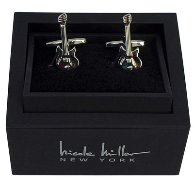 Nicole Miller Studio Electric Guitar Cuff Links