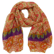 Mandy Abstract Floral Scarf
