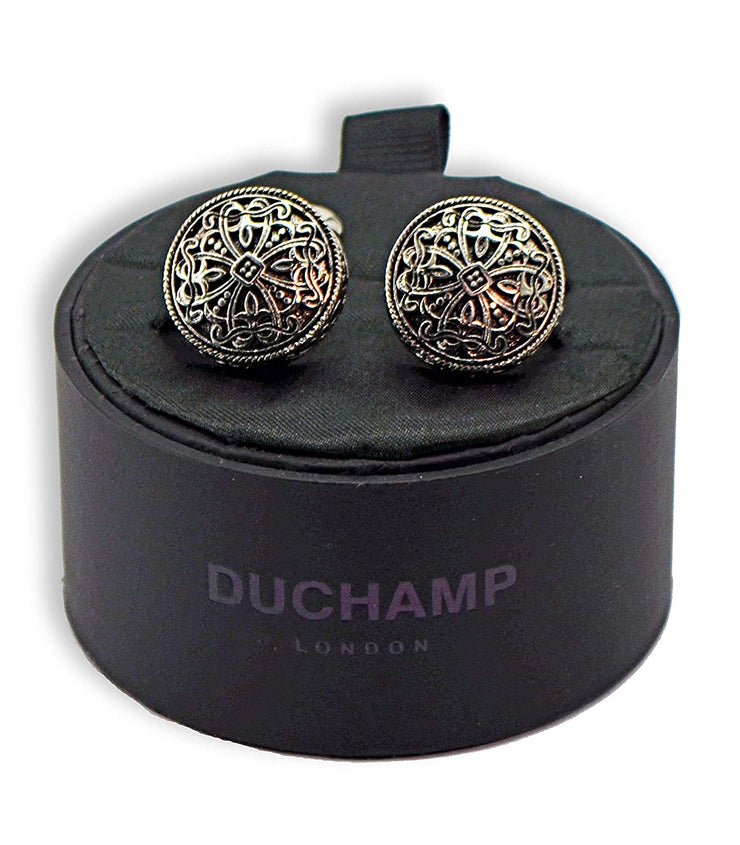 Duchamp London Black Cuff Links