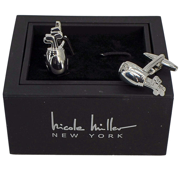 Nicole Miller Studio Golf Cuff Links