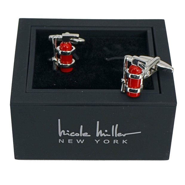 Nicole Miller Studio Fire Extinguisher Cuff Links