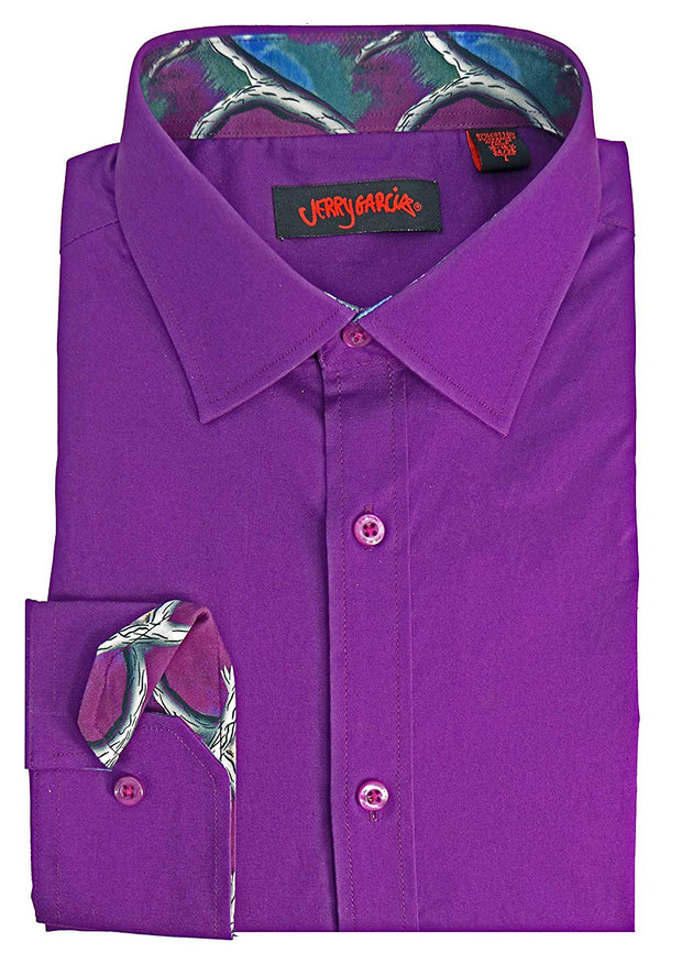 Jerry Garcia Lilac Dress Shirt
