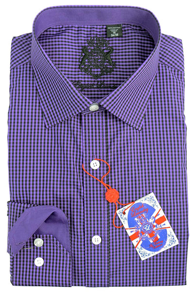 English Laundry Chec Dress Shirt