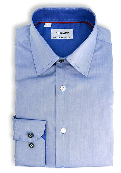 Duchamp London Solid Dress Shirt