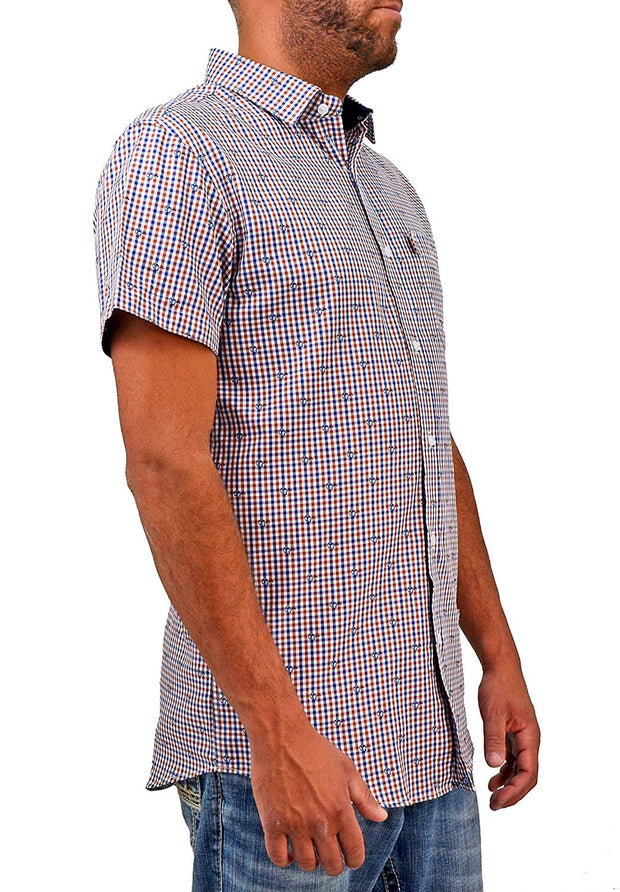Bermuda Styles Glasses Button-Down
