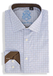 English Laundry Squares Dress Shirt