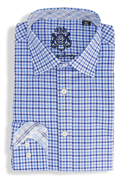 English Laundry Check Dress Shirt