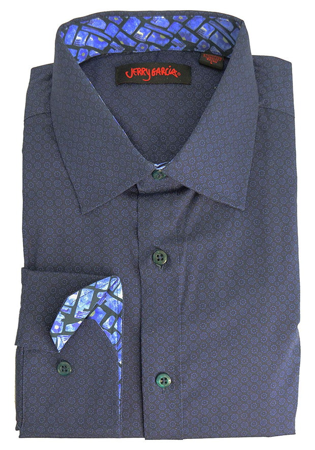 Jerry Garcia Printed Dress Shirt