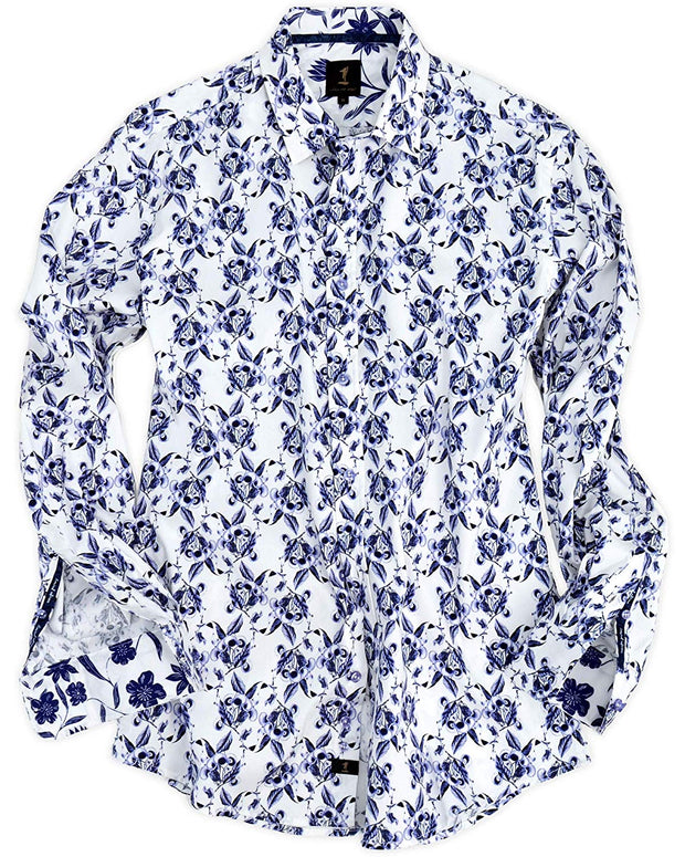 1 Like No Other Uva Long Sleeve Print Shirt