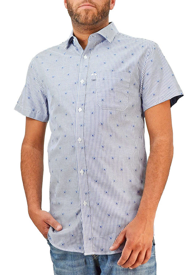 Bermuda Styles Tennis Button-Down