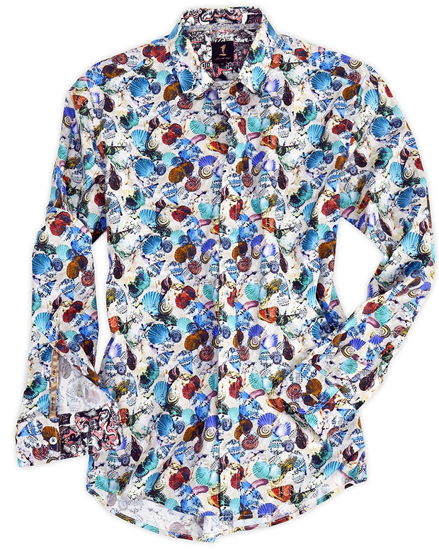 1 Like No Other Fjara Print Shirt