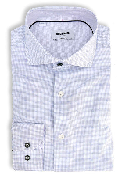 Duchamp London Printed Dress Shirt