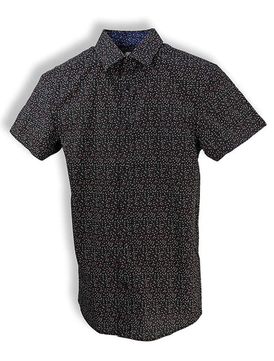 English Laundry Printed Short-Sleeve Shirt