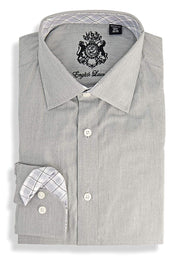 English Laundry Solid Dress Shirt