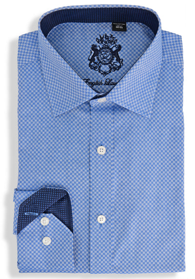 English Laundry Pattern Dress Shirt