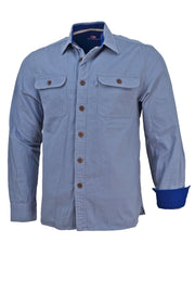 Beau Brummel Canvas Button Up Shirt