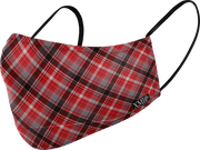 Plaid printed N95 Styled mask