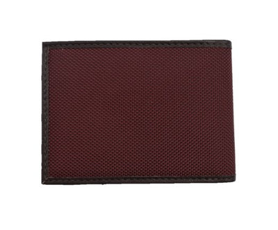 Save the Ocean Recycled Burgundy Slim Fold Wallet