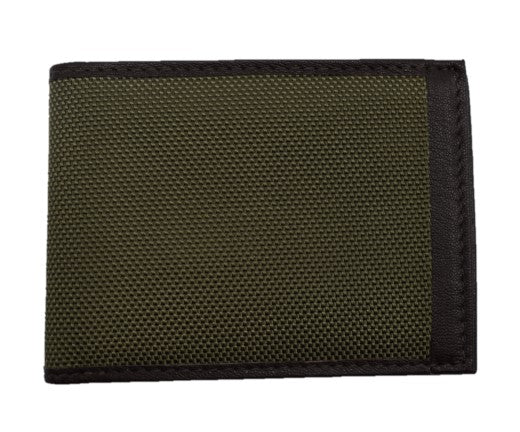 Save the Ocean Olive Slim Fold Wallet