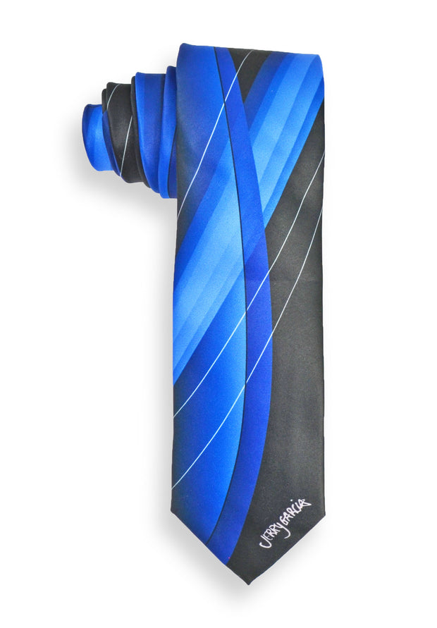 Jerry Garcia Blue Iceburg Mens Tie