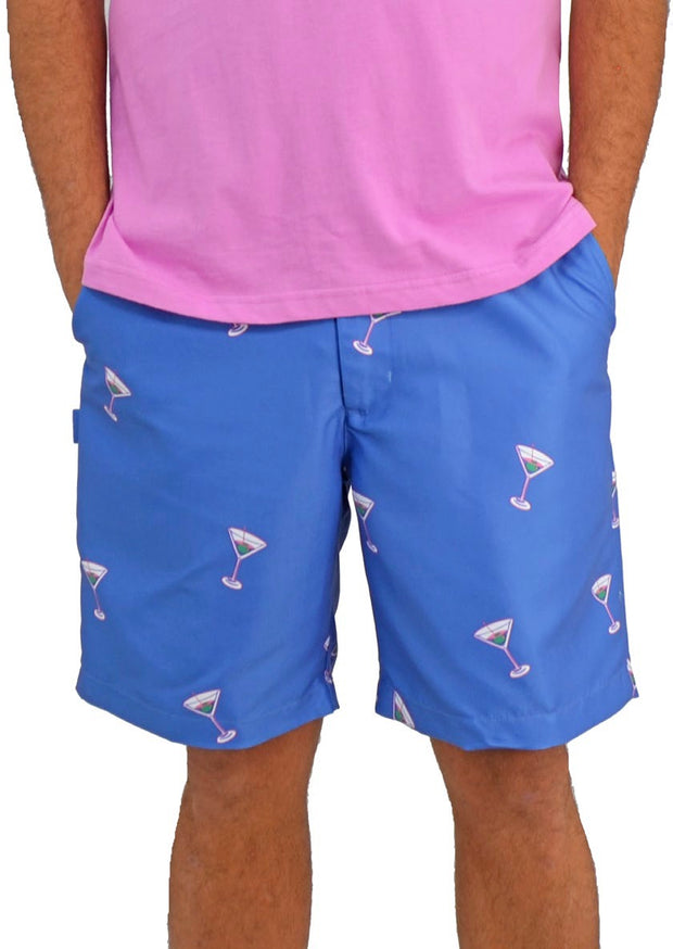 Bermuda Styles Short with allover Martini's