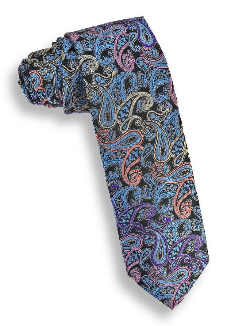 XMI Mixed Pine Platinum Tie