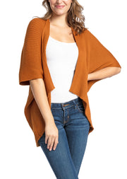 Save the Ocean Recycled Rust Knit Kimono