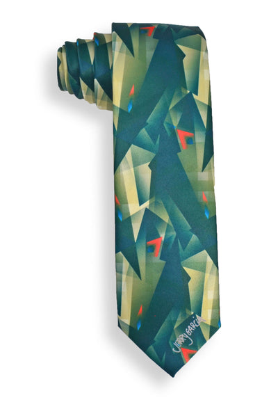 Jerry Garcia Facets1 Mens Tie