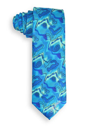 Jerry Garcia Feeding In the Light Mens Tie