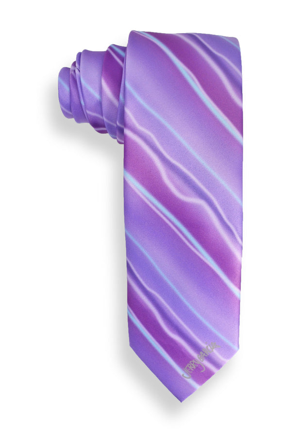 Jerry Garcia Flaming Meadow Mens Tie