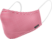 Gingham printed mask for Kids
