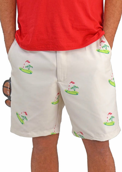 Bermuda Styles Short with allover Golf theme